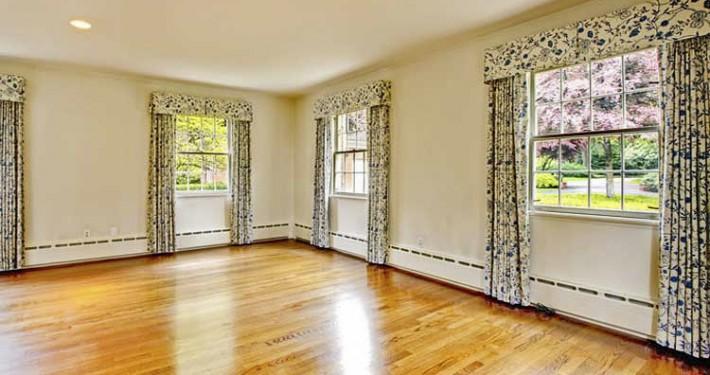 box pleat valence curtains